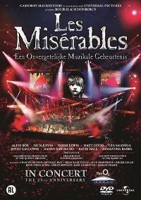 Cover Musical - Les Misérables In Concert - The 25th Anniversary [DVD]